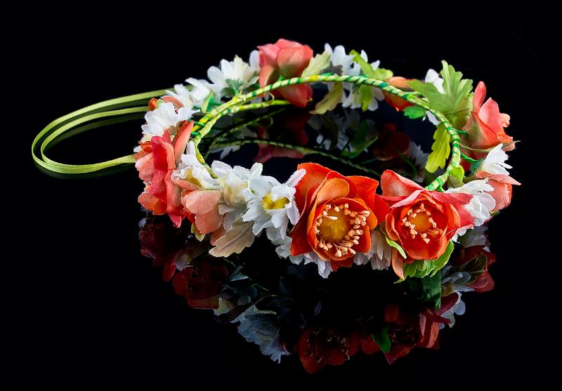 Глина цветы 66